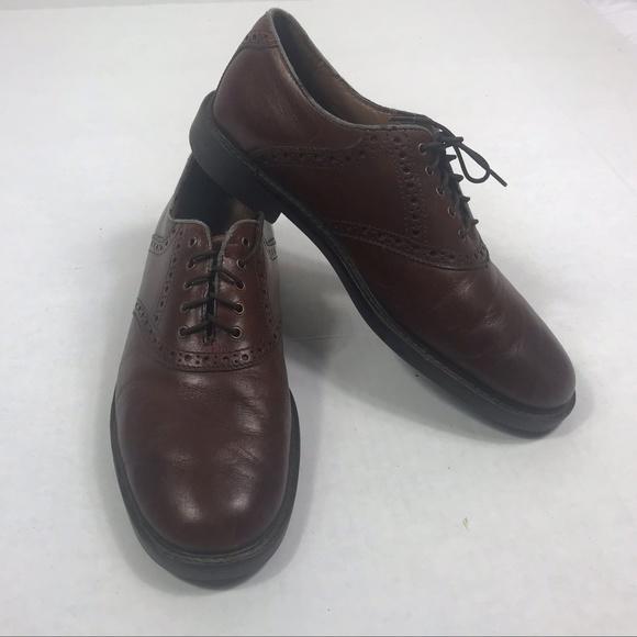 907c6fda275 Johnston & Murphy Men's Shoes Size 8.5 Brown Leath